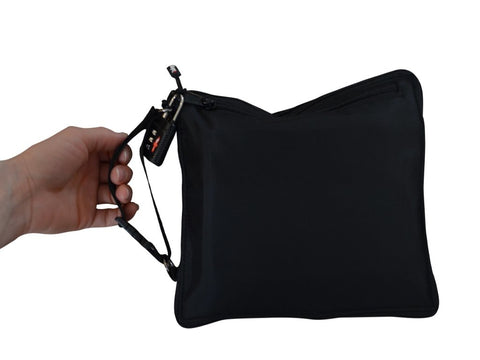 Razbag Medicine durable portable bag with free pillbox and TSA lock