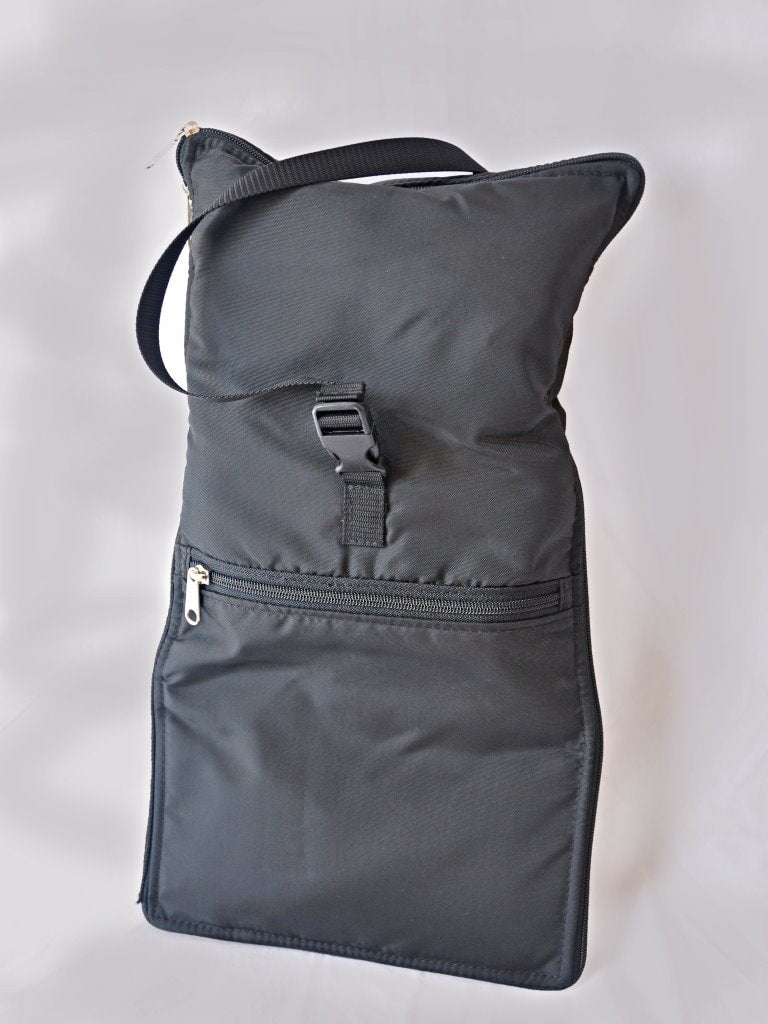 Razbag Classic Medicine Bag and FREE Pillbox - Holds 20 various sizes of prescription bottles.