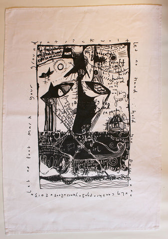 Lycanthropy 10th Anniversary Tea Towel