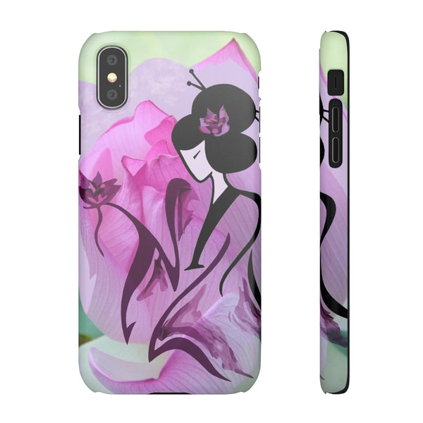 Geisha Snap Cases