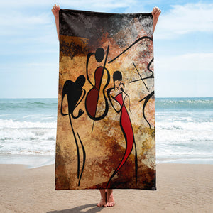 Jazz Band Towel