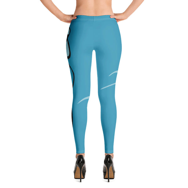 Women's Sea Yoga Leggings