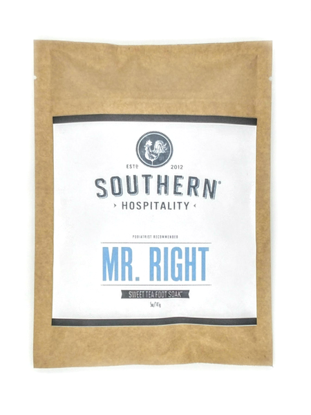 Southern Hospitality Mr. Right Foot Soak