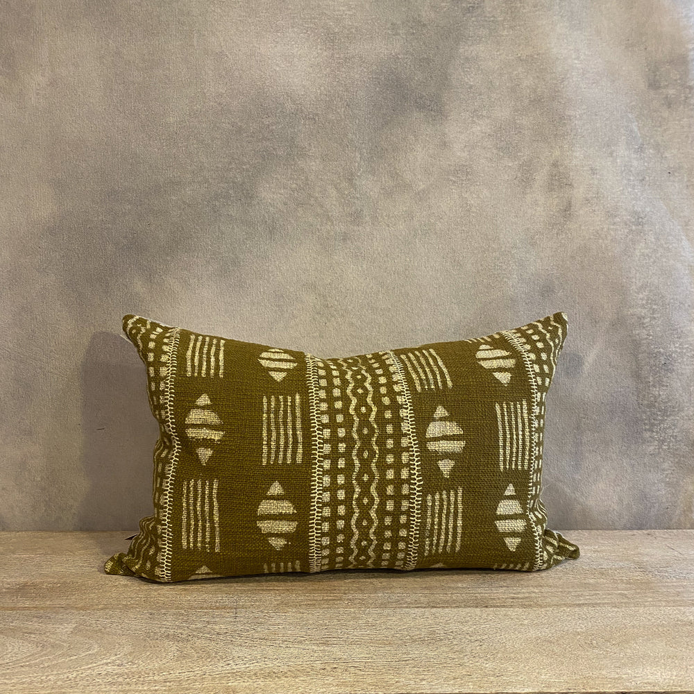 Chartreuse Dabu Pillow