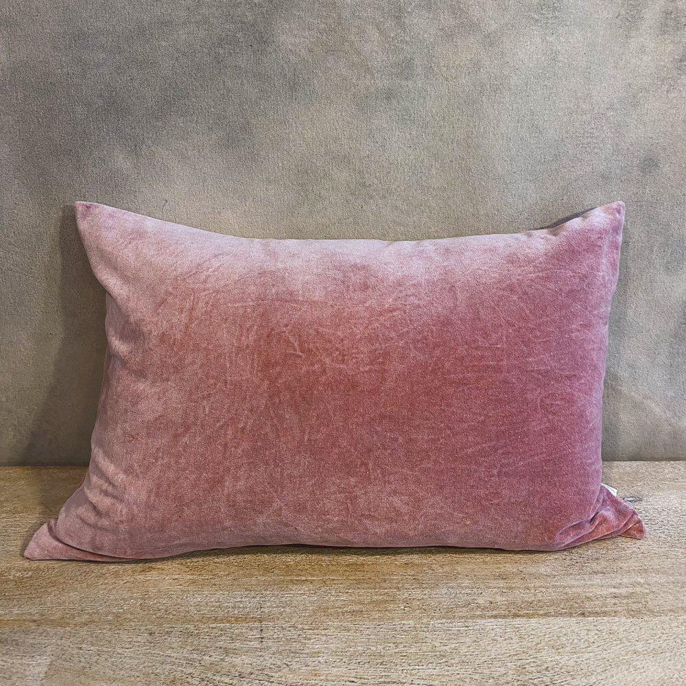Raspberry Velvet Pillow