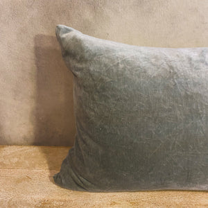 Load image into Gallery viewer, Green Tea Velvet Pillow