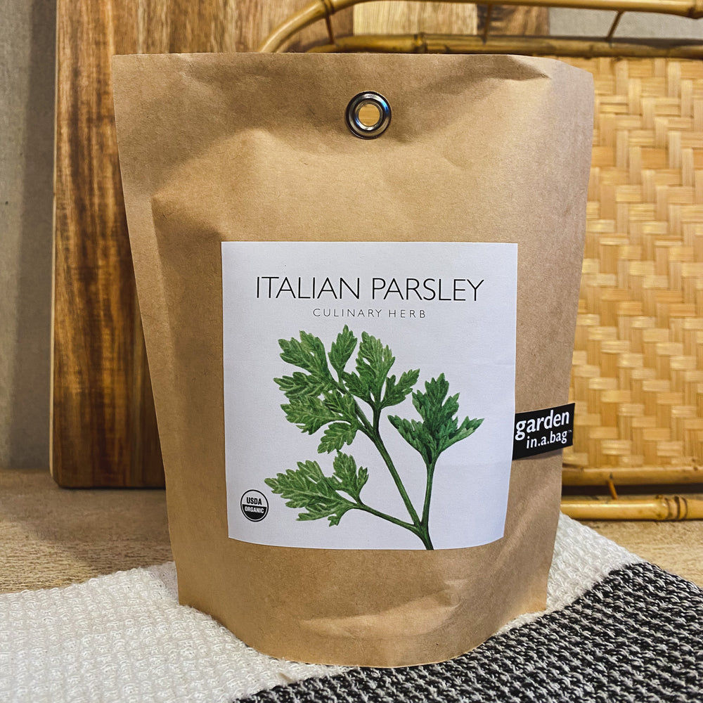 Italian Parsley Garden in a Bag
