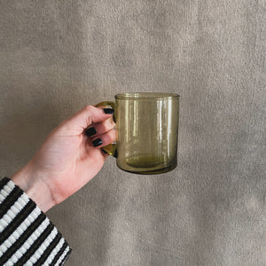 Load image into Gallery viewer, Olive Glass Mug