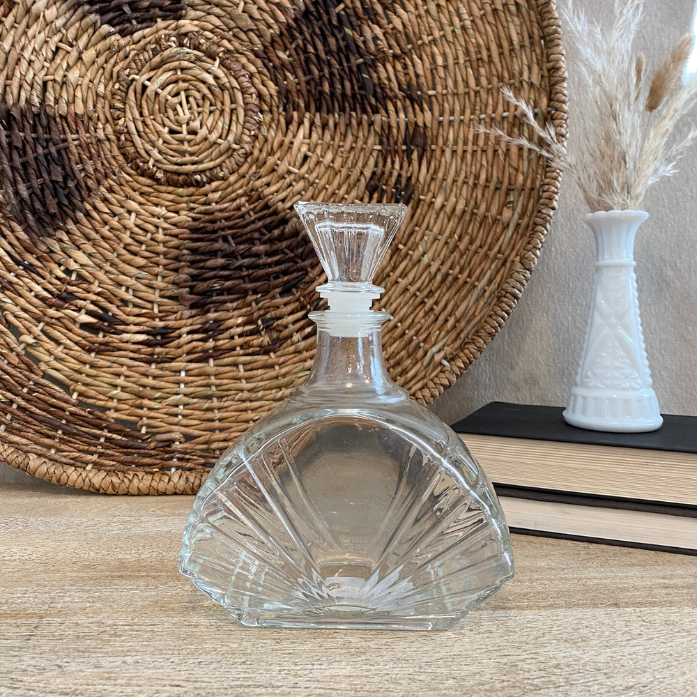 Vintage Fan Decanter