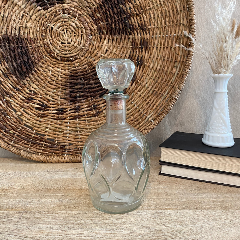 Vintage Patterned Decanter