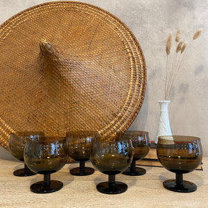 Load image into Gallery viewer, Vintage Snifter Glass Set of 6