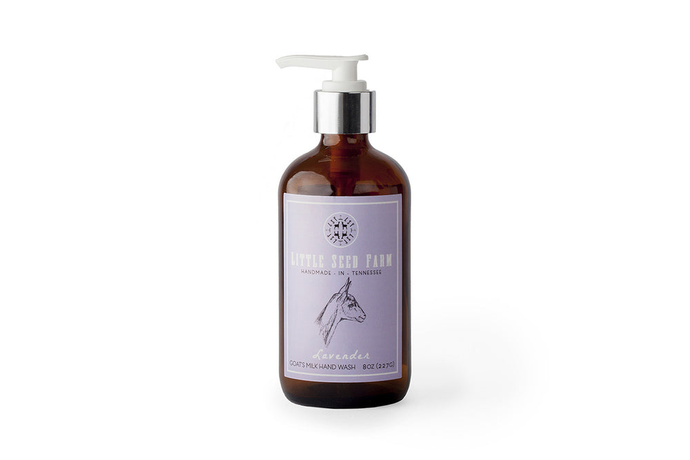 Little Seed Farm Goat's Milk Hand Wash: Lavender