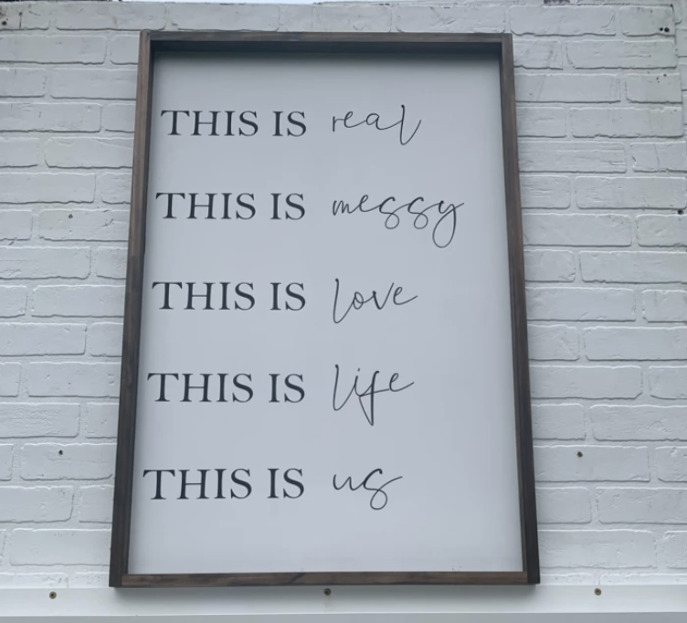 This Is Us (32x26in)
