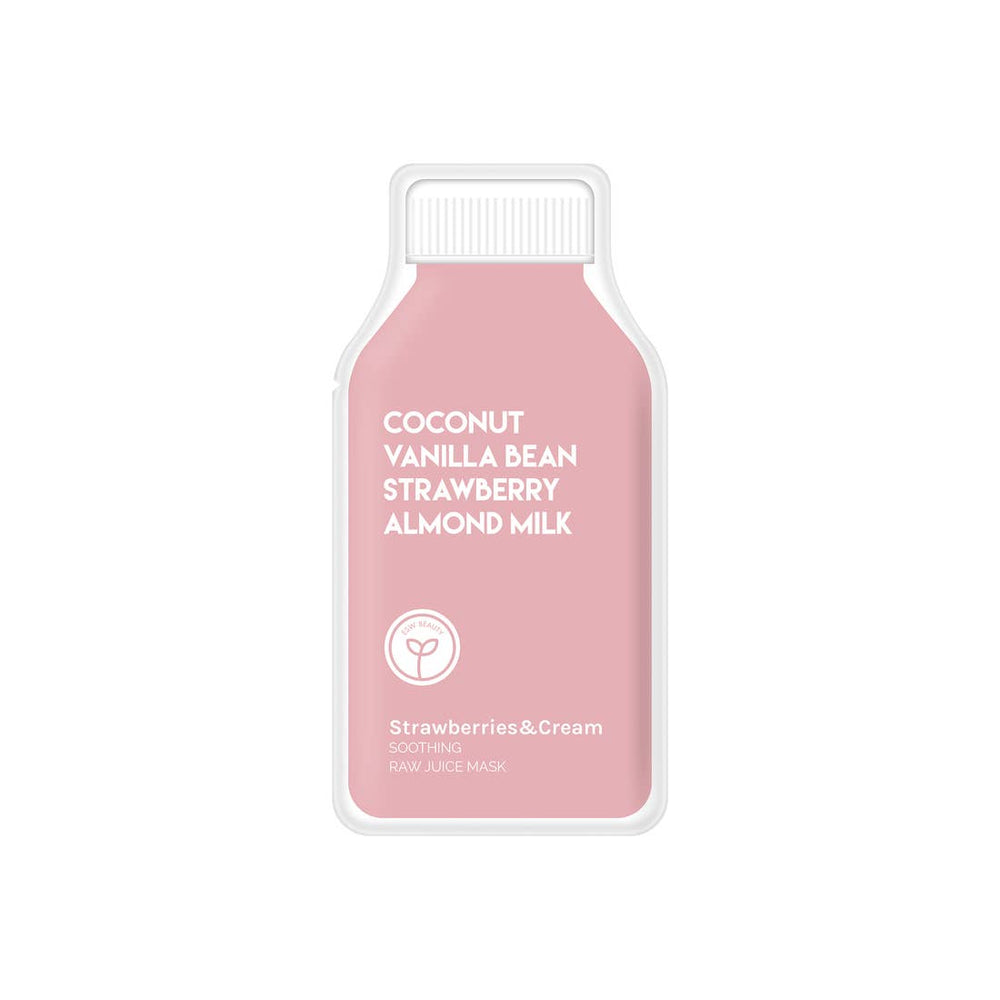 Strawberries & Cream Juice Mask