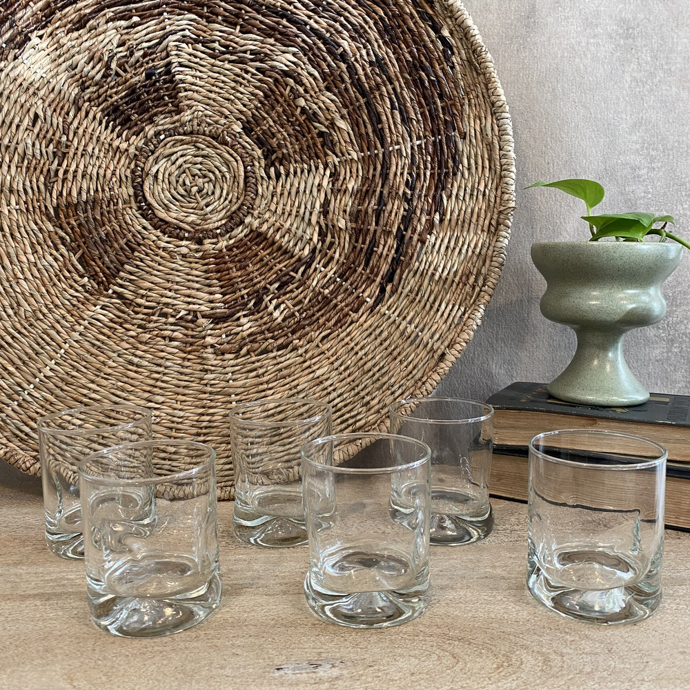 Vintage Whiskey Glasses (Set of 6)