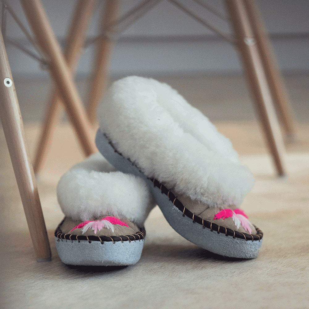 Pink Sheepers Slippers