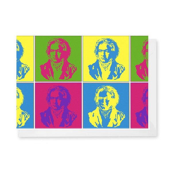 Pop Beethoven Notecard Set