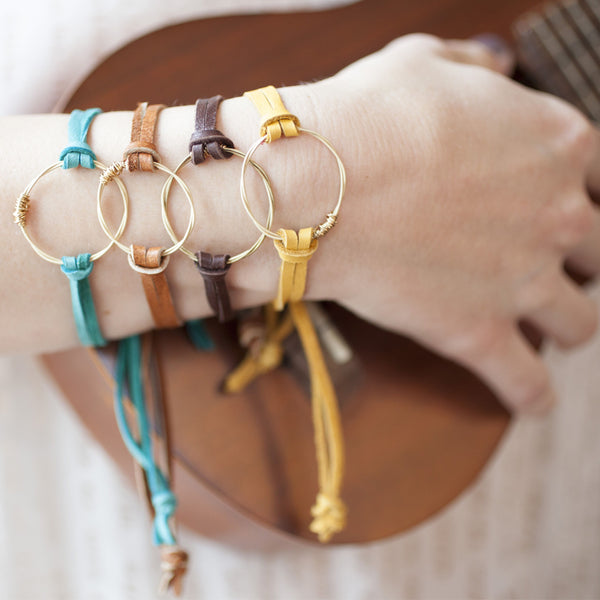 Guitar String Eternity Bracelet