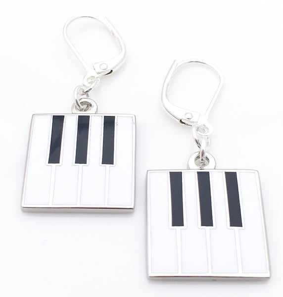 Piano Drop Earrings