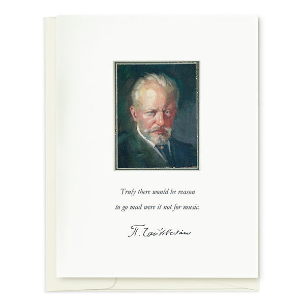 Tchaikovsky Quote