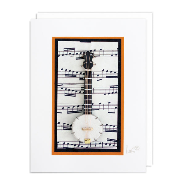 Banjo Art Card