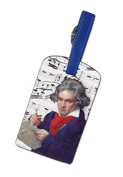 Beethoven Luggage Tag