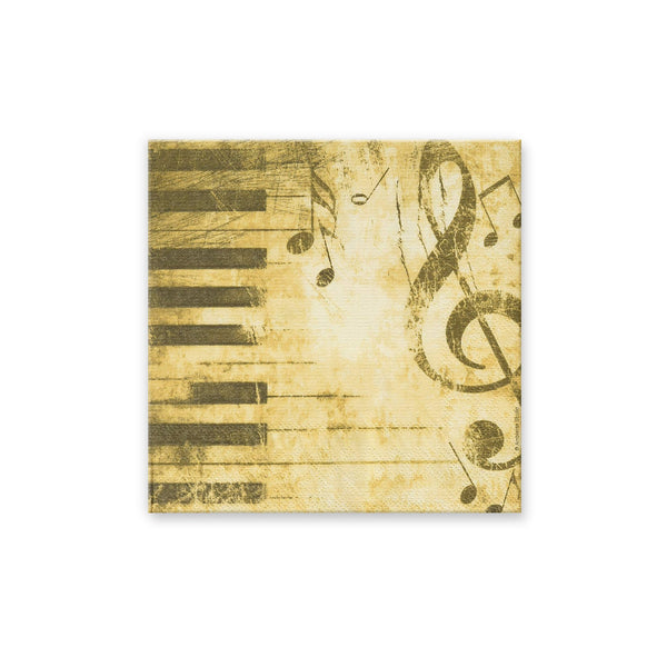 Piano Keyboard Beverage Napkins