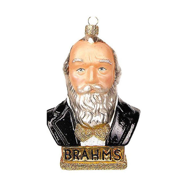 Brahms Blown Glass Ornament