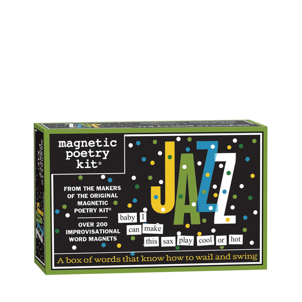 Jazz Magnetic Poetry Kit