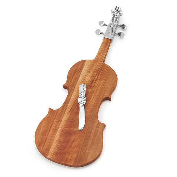 Violin Cheese Board