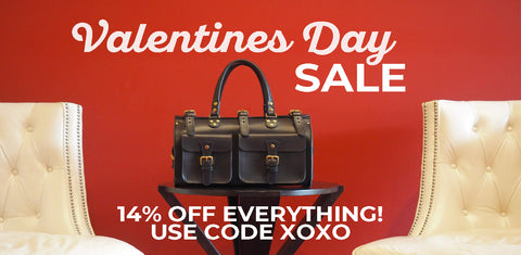 Marlondo Leather Valentine's Day Sale