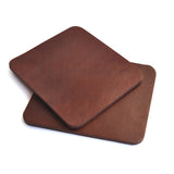 Rectangular Leather Coasters