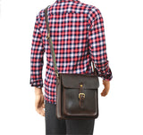 Vertical Crossbody Satchel