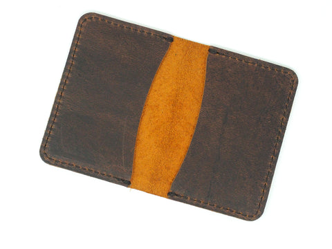 Business card wallet marlondo leather co business card wallet colourmoves