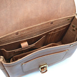 Postal Messenger Bag - Vintage Leather