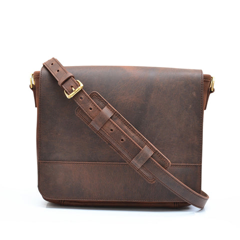 Classic Satchel - Vintage Leather