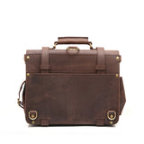 Double Space Briefcase - Vintage Leather