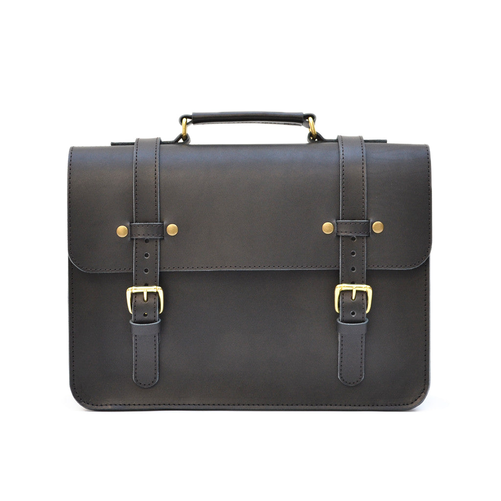 The All American Leather Field Briefcase