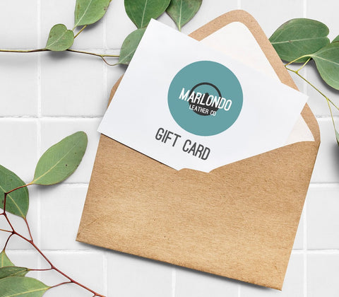 Marlondo Leather Gift Card - SALE