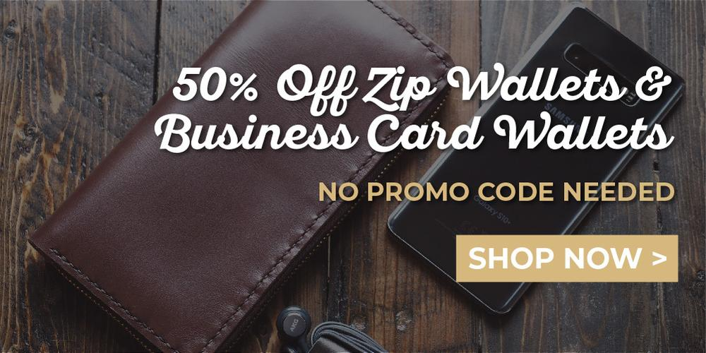 25% Off Leather Gift Sets - No Code Needed