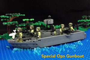 Special Operations Gunboat with Crews