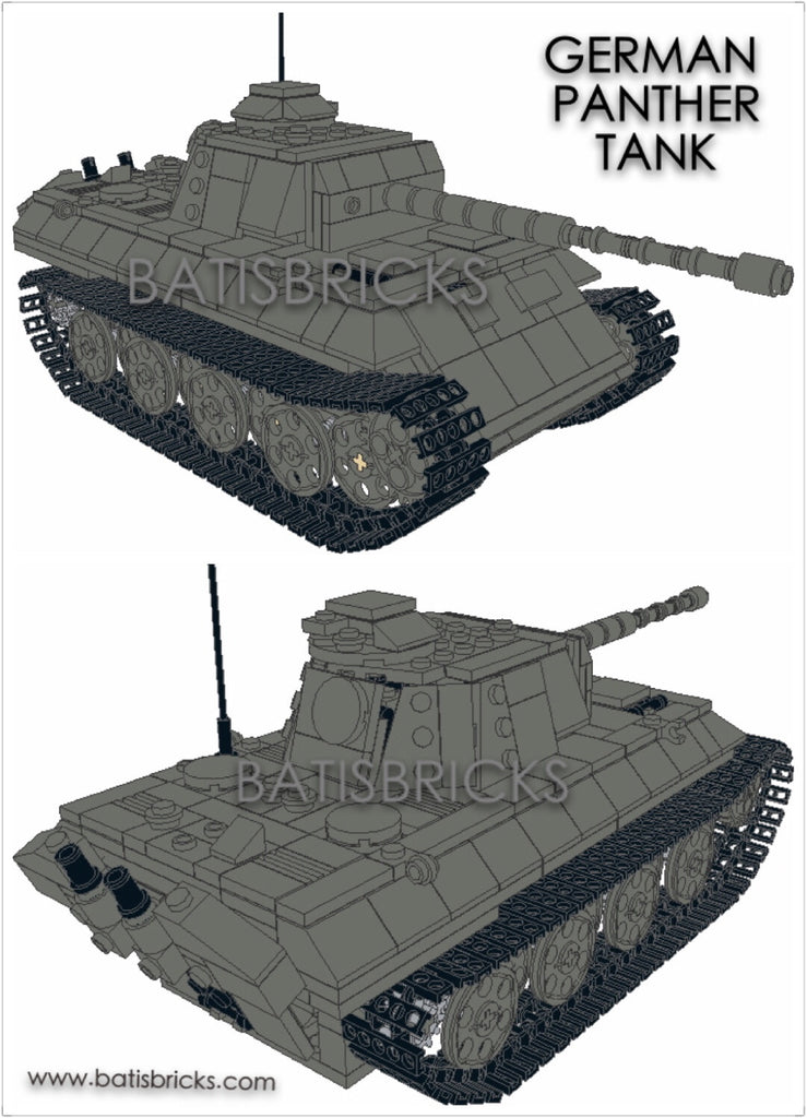 WWII GERMANY PANTHER TANK