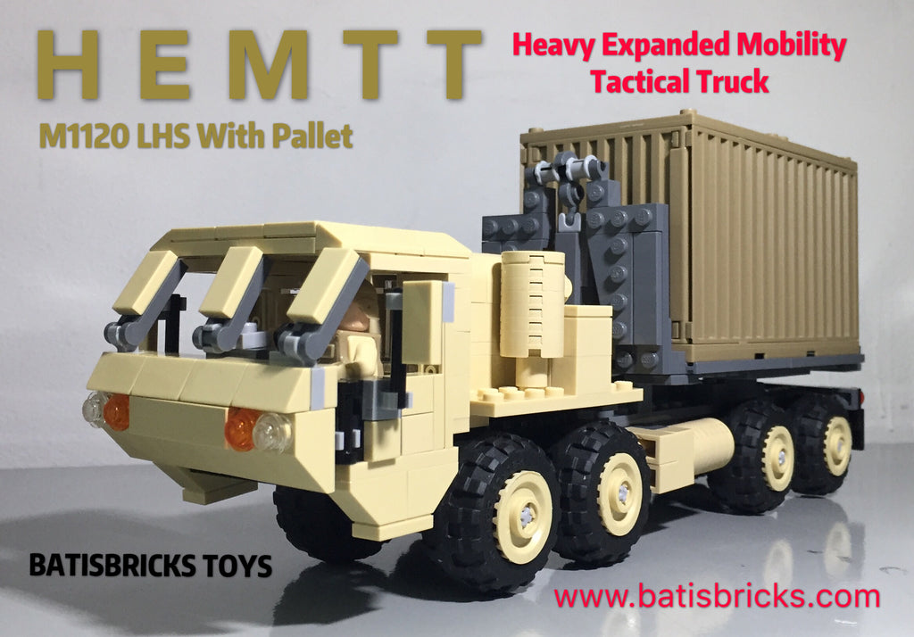 HEMTT M1120 LHS with Pallet