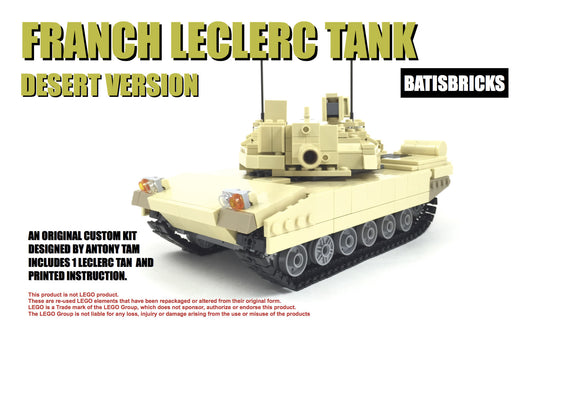 LECLERC TANK TAN VERSION [ LIMITED EDITION]