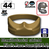 Maxillofacial shield Pilot's Face Guard(MFS-2)