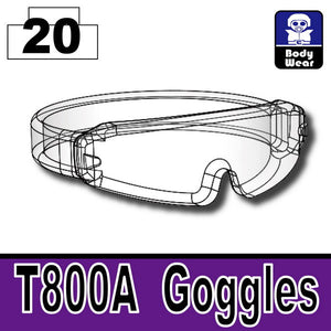 Mx Clear_T800A Goggles