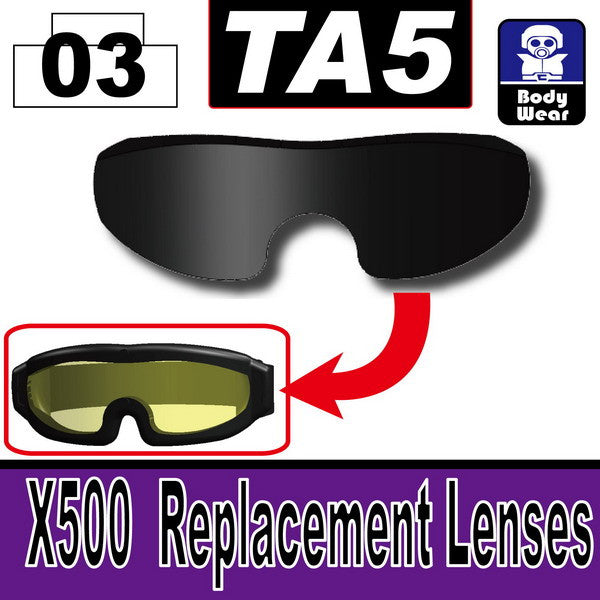 TA5(X500 Replacement Lenses)