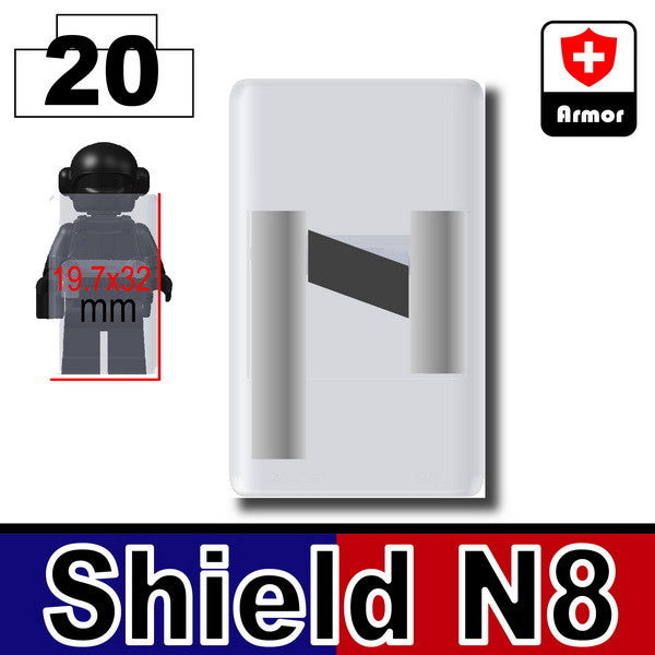 MX Clear_Riot Shield (N8)