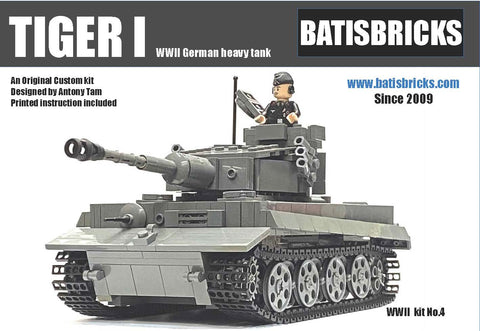WWII TIGER I TANK (new version)