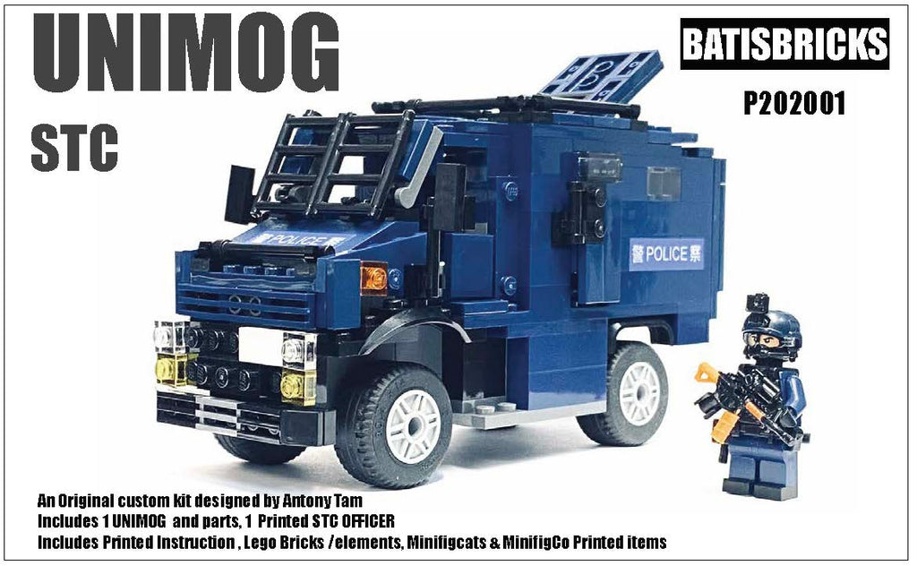 POLICE UNIMOG + STC Officer Kit
